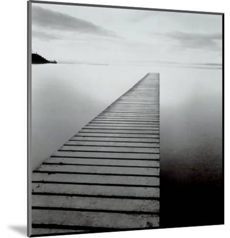 Plank Walk, Lancashire, England-Michael Kenna-Mounted Art Print