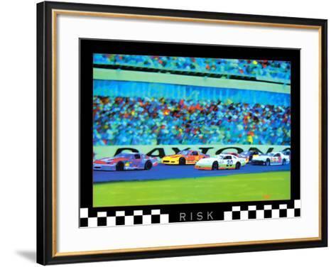 Risk: Auto Racing-Richard M^ Swiatlowski-Framed Art Print