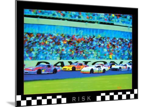 Risk: Auto Racing-Richard M^ Swiatlowski-Mounted Art Print