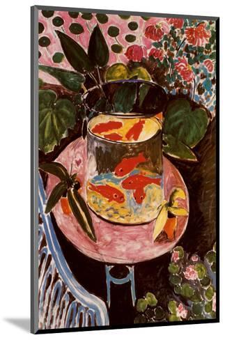 Gold Fish-Henri Matisse-Mounted Art Print