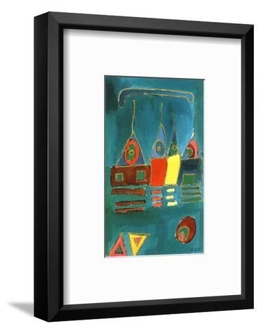 Township-Rachel E. Brown-Framed Art Print