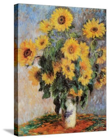 Sunflowers, c.1881-Claude Monet-Stretched Canvas Print