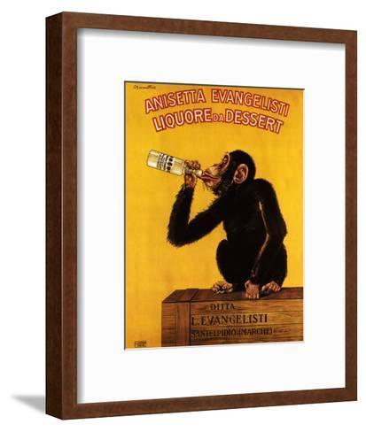 Anissetta Evangelisti, Liquore Da Dessert--Framed Art Print