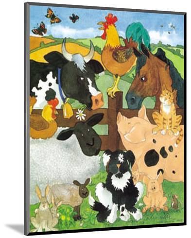 Farmyard Fun-Julia Hulme-Mounted Art Print