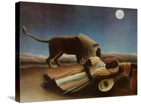 Sleeping Gypsy, 1897-Henri Rousseau-Stretched Canvas Print
