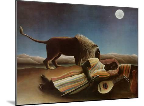 Sleeping Gypsy, 1897-Henri Rousseau-Mounted Art Print