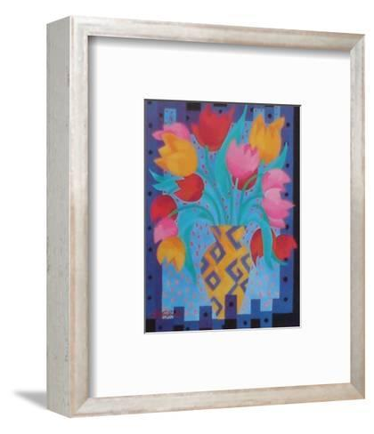Primary Tulips-Fay Powell-Framed Art Print