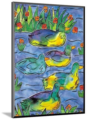 Ducks on Patrol-Lisa V^ Keaney-Mounted Art Print