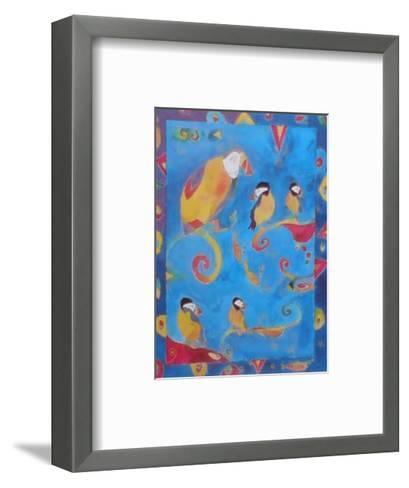 Puffins II--Framed Art Print