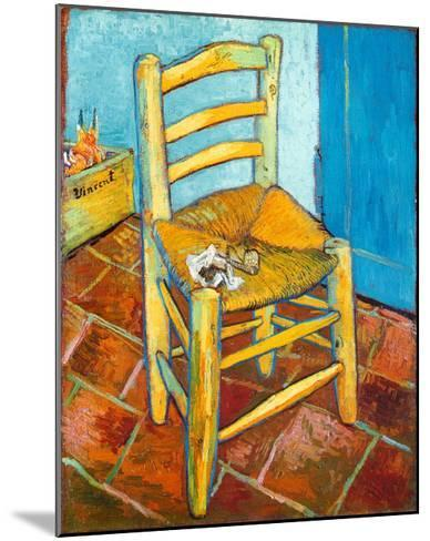 Chair with Pipe-Vincent van Gogh-Mounted Art Print