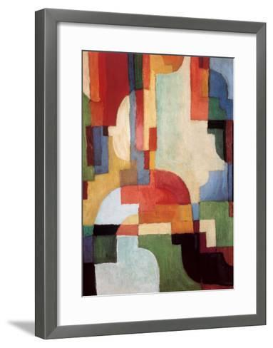 Farbige Formen I, 1933-Auguste Macke-Framed Art Print