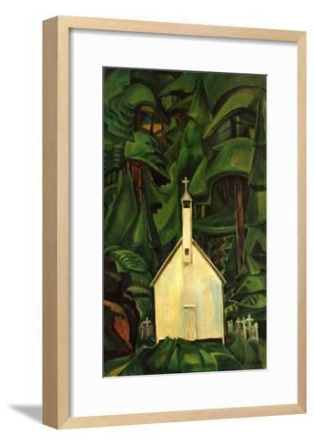 Indian Church-Emily Carr-Framed Art Print