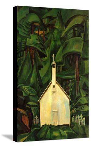 Indian Church-Emily Carr-Stretched Canvas Print