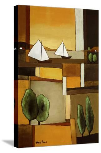 Two Boats II-Hans Paus-Stretched Canvas Print