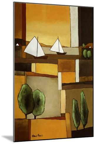 Two Boats II-Hans Paus-Mounted Art Print