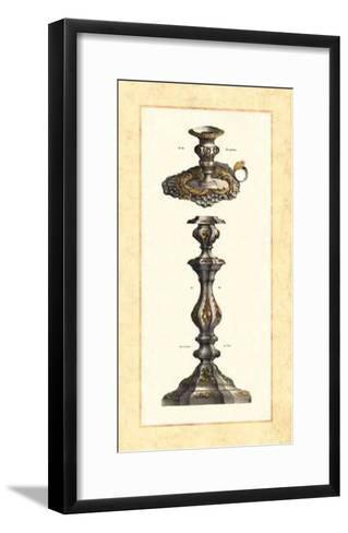 Plateria  Candelabro II--Framed Art Print