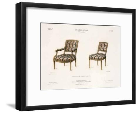 Le Garde-Meuble III-E^ Maincent-Framed Art Print