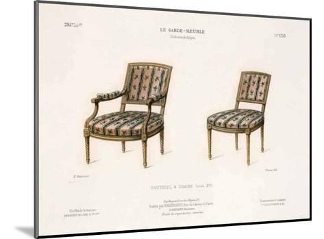 Le Garde-Meuble III-E^ Maincent-Mounted Art Print