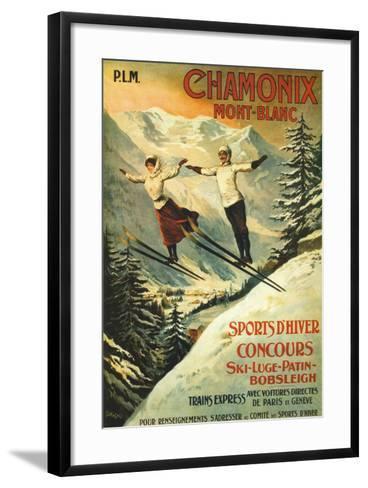 Chamonix-Francisco Tamagno-Framed Art Print