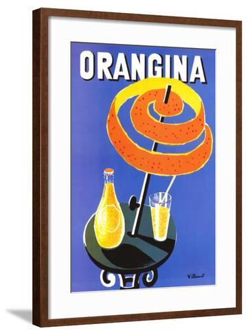 Orangina-Bernard Villemot-Framed Art Print