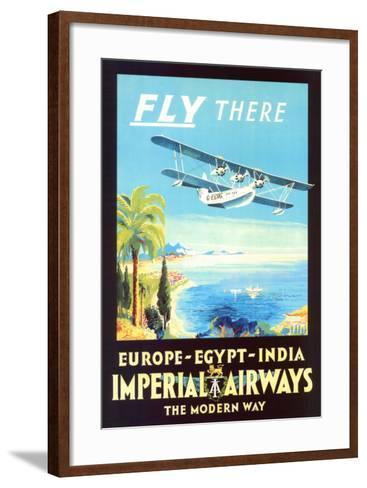 Imperial Airways--Framed Art Print