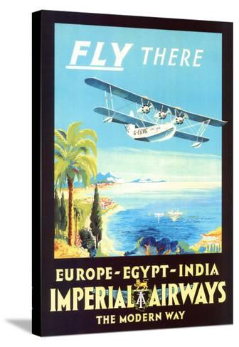 Imperial Airways--Stretched Canvas Print