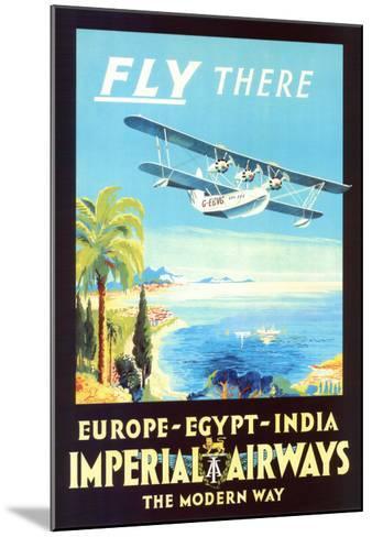 Imperial Airways--Mounted Art Print