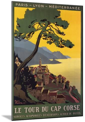 Tour Du Cap Corse-Roger Broders-Mounted Art Print