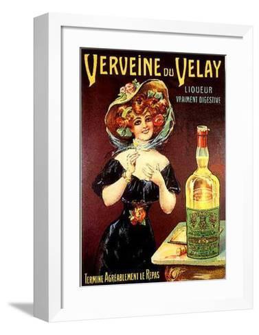 Verveine Du Velay--Framed Art Print