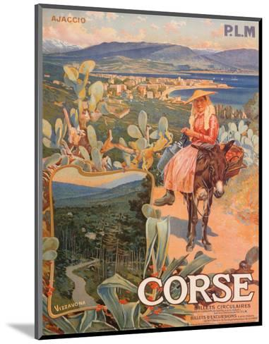 Corse--Mounted Art Print