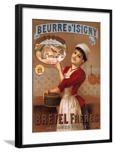 Beurre Disigny--Framed Art Print