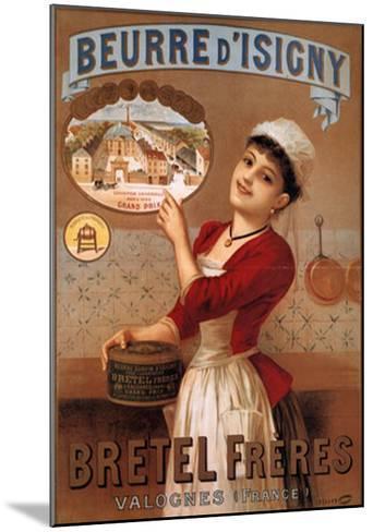 Beurre Disigny--Mounted Art Print