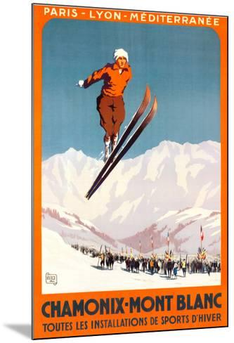 Chamonix, Mont Blanc-Alo (Charles-Jean Hallo)-Mounted Art Print