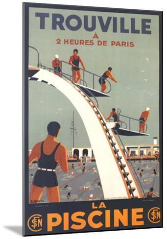 Trouville, La Piscine-Molusson-Mounted Art Print