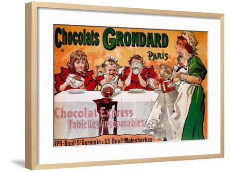 Chocolats Grondard--Framed Art Print