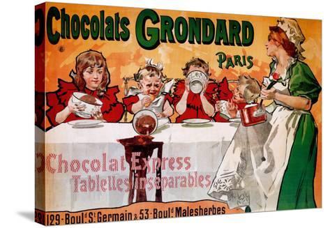 Chocolats Grondard--Stretched Canvas Print