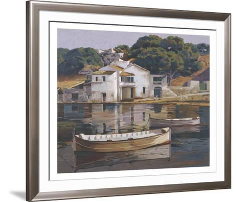 Puerto De Mahon-Poch Romeu-Framed Art Print