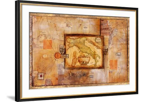 Italian Excursion-Minkist Zelda-Framed Art Print