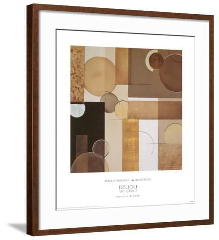Spherical Movement I-Celeste Peters-Framed Art Print