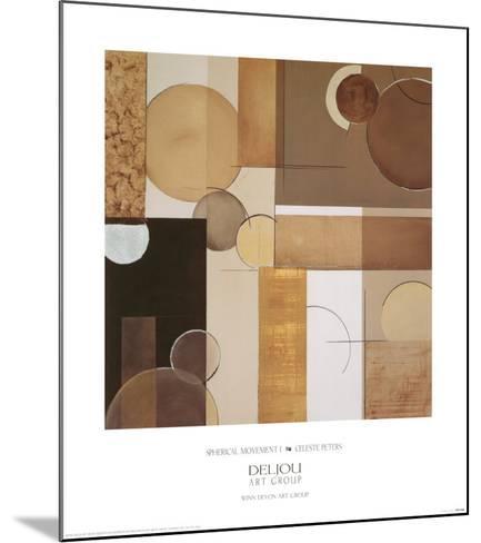 Spherical Movement I-Celeste Peters-Mounted Art Print
