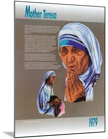Mother Teresa--Mounted Art Print
