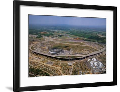 Talladega Speedway - Alabama-Mike Smith-Framed Art Print