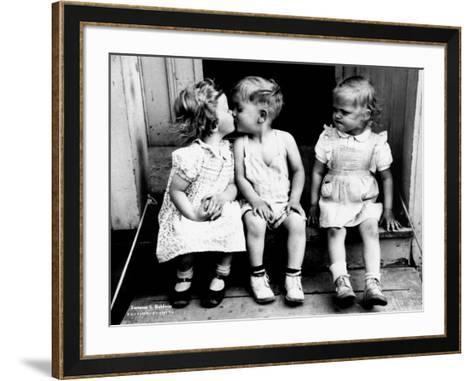 Bacio-Furman S^ Baldwin-Framed Art Print