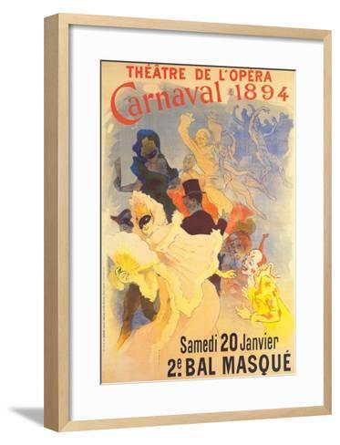 Theatre de l'Opera-Jules Ch?ret-Framed Art Print