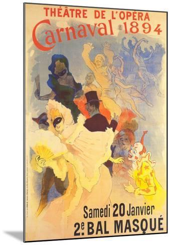 Theatre de l'Opera-Jules Ch?ret-Mounted Art Print