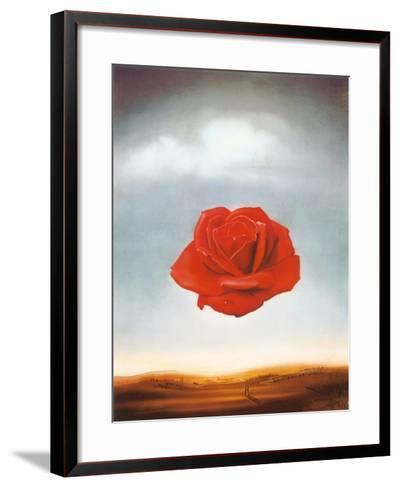 Rose Meditative, c.1958-Salvador Dal?-Framed Art Print
