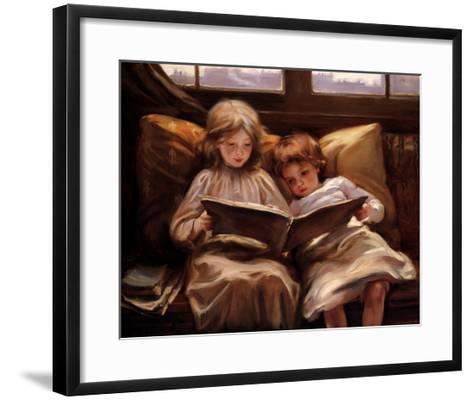 Interesting Story-Laura Muntz Lyall-Framed Art Print