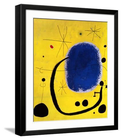 L'Oro dell' Azzurro-Joan Mir?-Framed Art Print