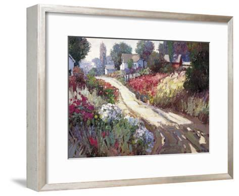 Spring Lane-Kent Wallis-Framed Art Print
