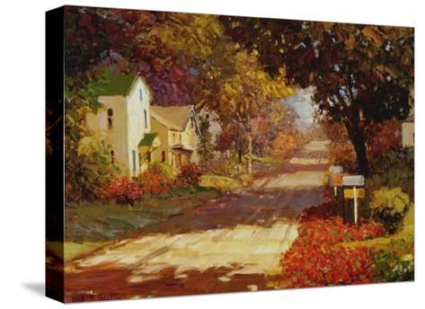 Late Summer Day-Kent Wallis-Stretched Canvas Print